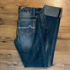 Southern Thread Skinny Jeans EUC